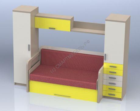 шкаф диван