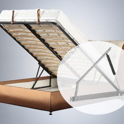 Механизм подъема кровати (36°) с газлифтами  500N