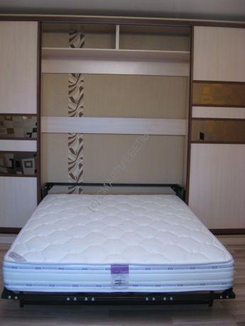 СМАРТБЕД 160F - Кровать в шкаф-купе 160 x 200 см